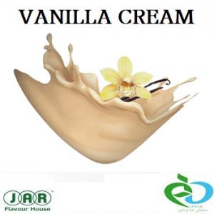 vanilla-cream flavour